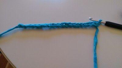 How to stitch a knit or crochet bracelet. Mixtape Bracelet - Step 2