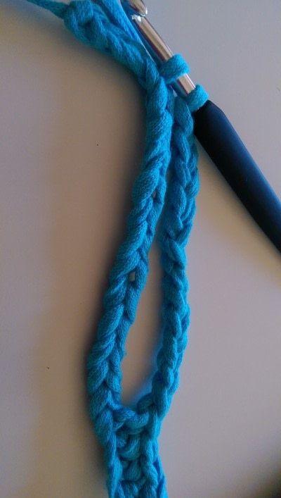 How to stitch a knit or crochet bracelet. Mixtape Bracelet - Step 3