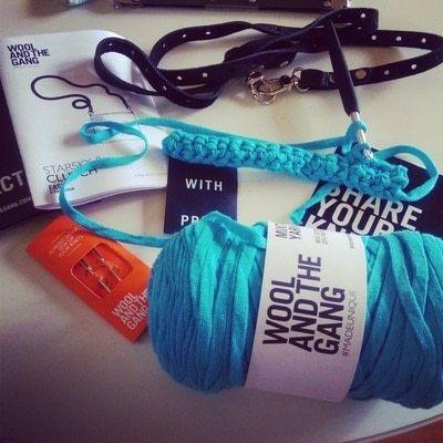 How to stitch a knit or crochet bracelet. Mixtape Bracelet - Step 8