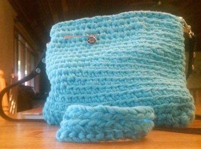 How to stitch a knit or crochet bracelet. Mixtape Bracelet - Step 9