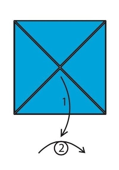 How to make an envelope. Flapping Bird Envelopes - Step 3