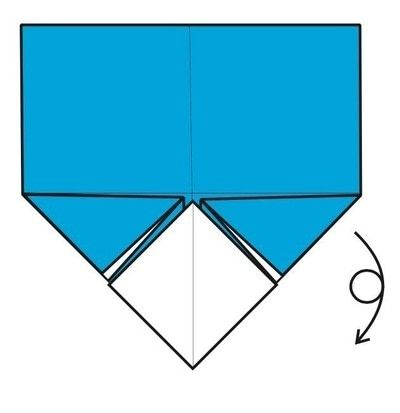How to make an envelope. Flapping Bird Envelopes - Step 6