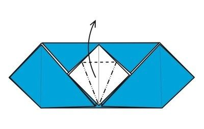 How to make an envelope. Flapping Bird Envelopes - Step 12