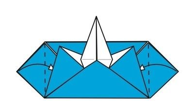 How to make an envelope. Flapping Bird Envelopes - Step 14
