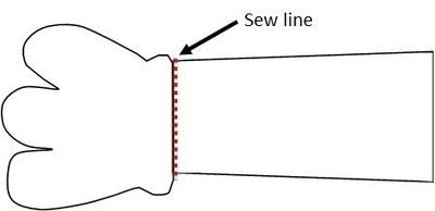 How to sew a movie plushie. Large Minion Plushie - Step 6