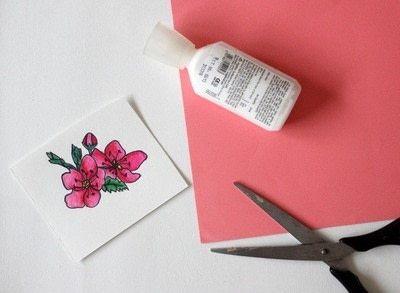 How to make a hairband / headband. Floral Headbands - Step 2