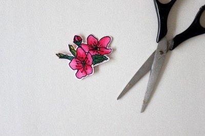 How to make a hairband / headband. Floral Headbands - Step 3