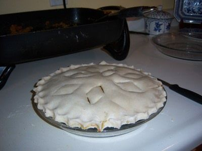 How to  bake a meat pie. Meat Pie from Ontario, Canada - Step 7