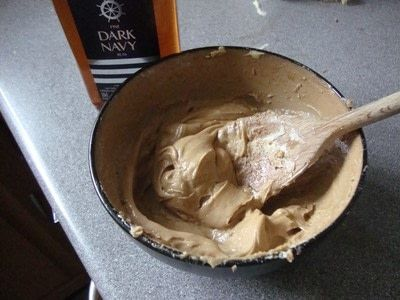 How to make butter. Traditional Cumbrian Rum Butter - Step 2