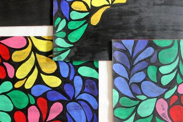Diy Batik Table Mats How To Make A Placemat Papercraft