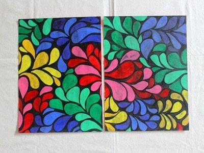 How to make a placemat. DIY Batik Table Mats - Step 6
