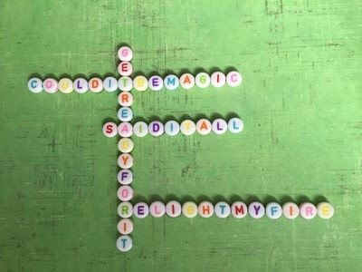How to make a shadow box. Personalised Letter Bead Framed Artwork - Step 5
