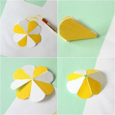 How to make decorative tablewear. DIY Straw Umbrellas! - Step 2