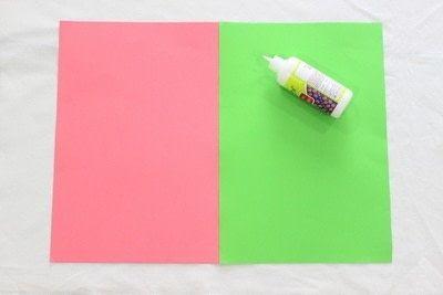 How to make a gift bag. Gazette Gift Bag! - Step 1