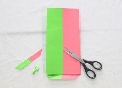 How to make a gift bag. Gazette Gift Bag! - Step 6