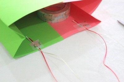 How to make a gift bag. Gazette Gift Bag! - Step 9