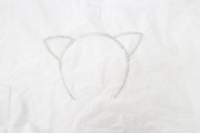 How to make a stitched cushion. Glow In The Dark Animal Ear Pillows - Step 7