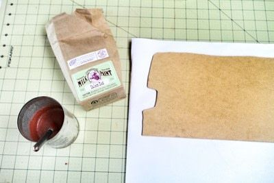 How to make a recipe holder. Routemaster Bus Cookbook Holder - Step 6