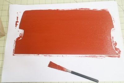 How to make a recipe holder. Routemaster Bus Cookbook Holder - Step 7