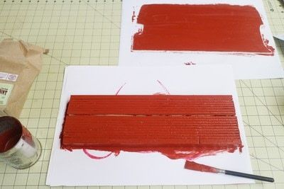 How to make a recipe holder. Routemaster Bus Cookbook Holder - Step 8