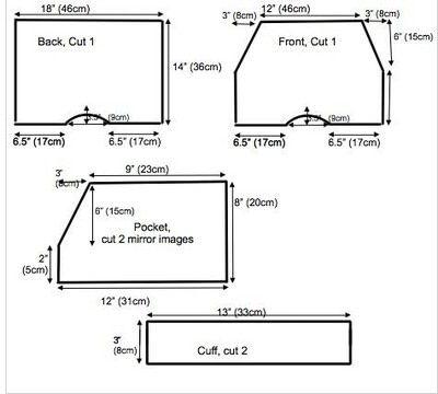 How to make shorts. Kids Harem Shorts - Step 1