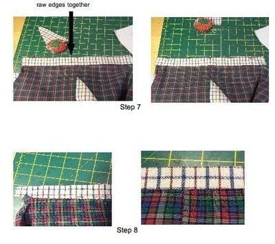How to make shorts. Kids Harem Shorts - Step 3
