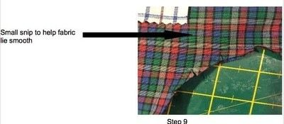 How to make shorts. Kids Harem Shorts - Step 4