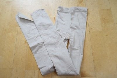 How to make a pair of tights / pantyhose. Scissor Print Cyanotype Tights - Step 1