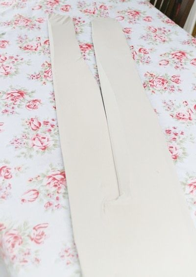 How to make a pair of tights / pantyhose. Scissor Print Cyanotype Tights - Step 3