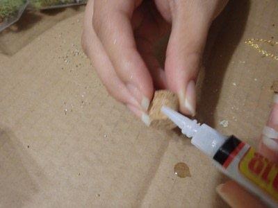 How to make a terrarium. Vial Terrarium - Step 4