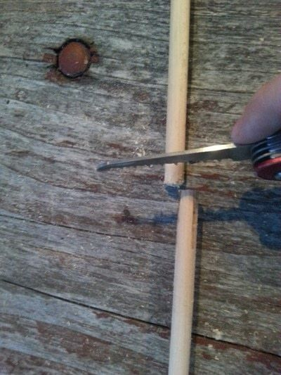 How to make a wand. Harry Potter Character Wands - Step 3