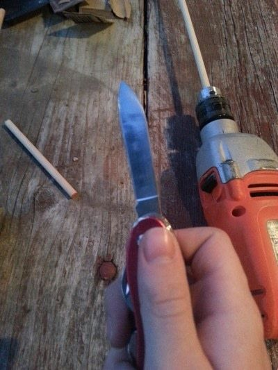 How to make a wand. Harry Potter Character Wands - Step 4