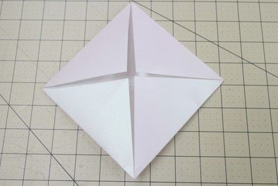 How to fold an origami box. Origami Bakery Boxes - Step 3
