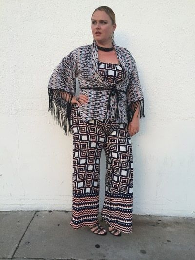 How to make a piece of clothing. Guide To Wearing Mixed Prints - Step 1