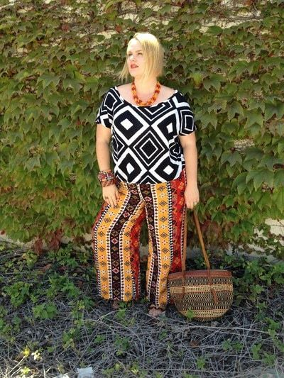How to make a piece of clothing. Guide To Wearing Mixed Prints - Step 9