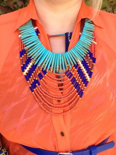 How to make a necklace. 8 Ways To Wear Layered Necklaces - Step 1