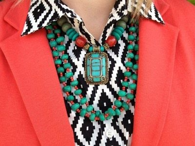 How to make a necklace. 8 Ways To Wear Layered Necklaces - Step 6