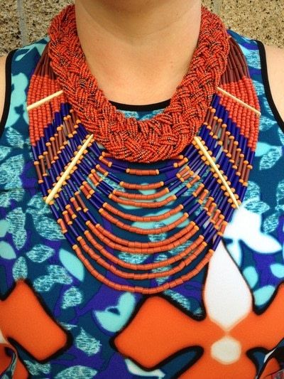 How to make a necklace. 8 Ways To Wear Layered Necklaces - Step 7