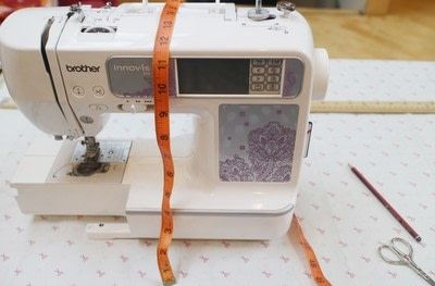 How to make a sewing machine covers. Cat Ear Sewing Machine Cover - Step 1