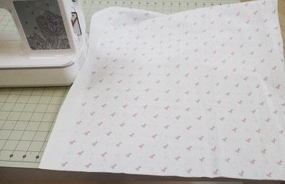 How to make a sewing machine covers. Cat Ear Sewing Machine Cover - Step 2