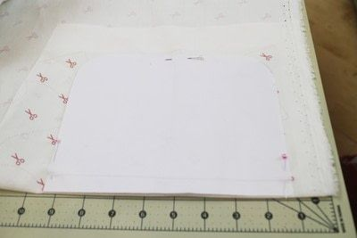 How to make a sewing machine covers. Cat Ear Sewing Machine Cover - Step 7