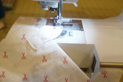 How to make a sewing machine covers. Cat Ear Sewing Machine Cover - Step 15