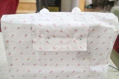 How to make a sewing machine covers. Cat Ear Sewing Machine Cover - Step 16