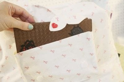 How to make a sewing machine covers. Cat Ear Sewing Machine Cover - Step 45