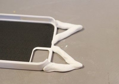 How to make a phone case. Animal Ear Phone Case - Step 5