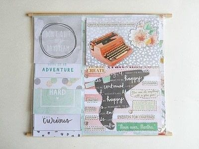 How to make a hanging. Vision Board Wall Hanging Diy - Step 6