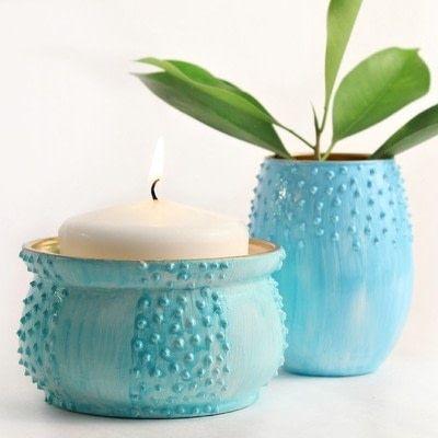 How to make a vase. Gorgeous Flower Vases  - Step 3