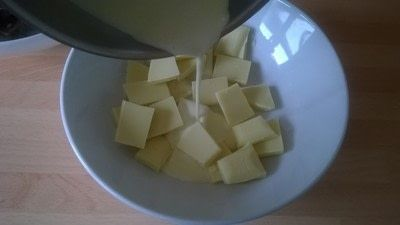 How to make a truffle. Malted & Vanilla Chocolate Truffles  - Step 2