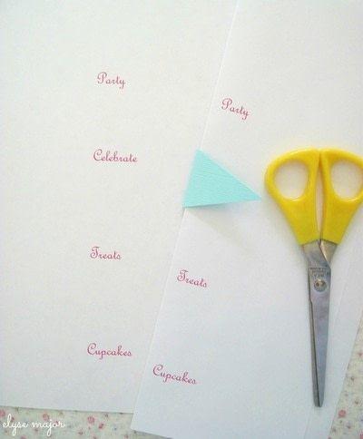 How to make decorative tablewear. Tinkered Toothpicks - Step 1