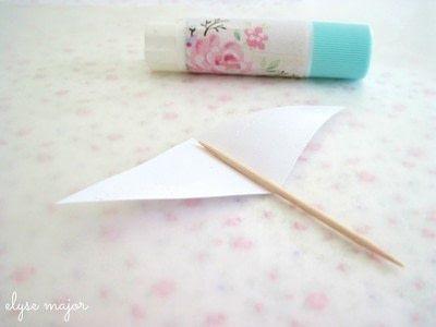 How to make decorative tablewear. Tinkered Toothpicks - Step 3
